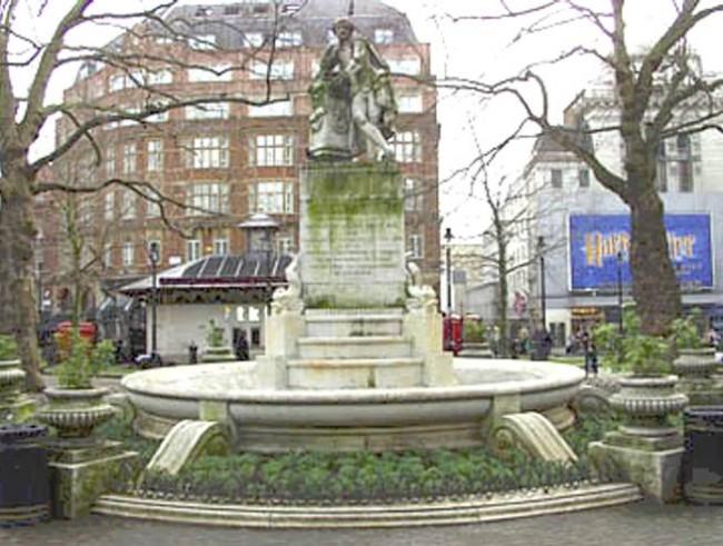 Spanish Fountain before